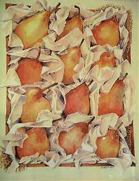 Pears by Carole Massey